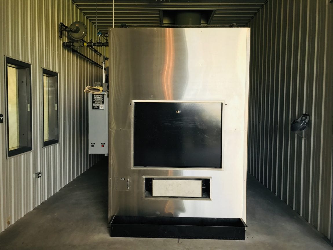 voyage funeral homes cremator unit a