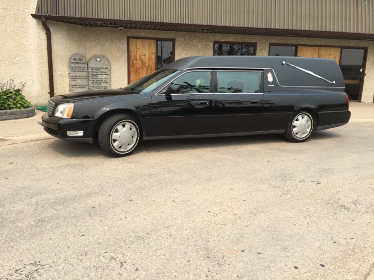 voyage funeral homes hearse