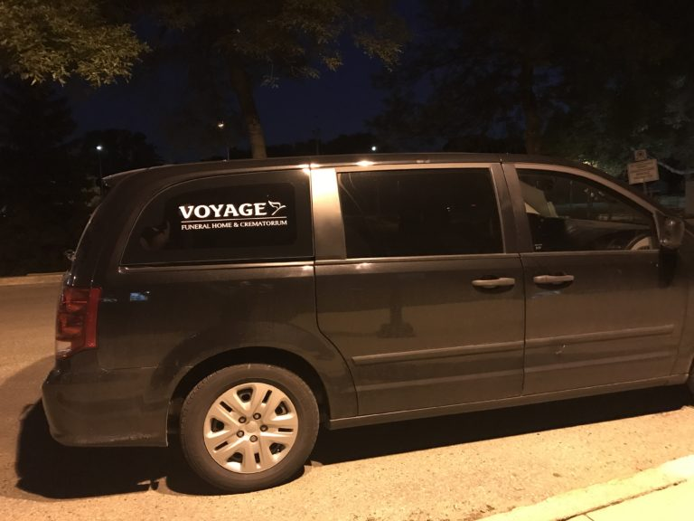 voyage funeral homes removal van