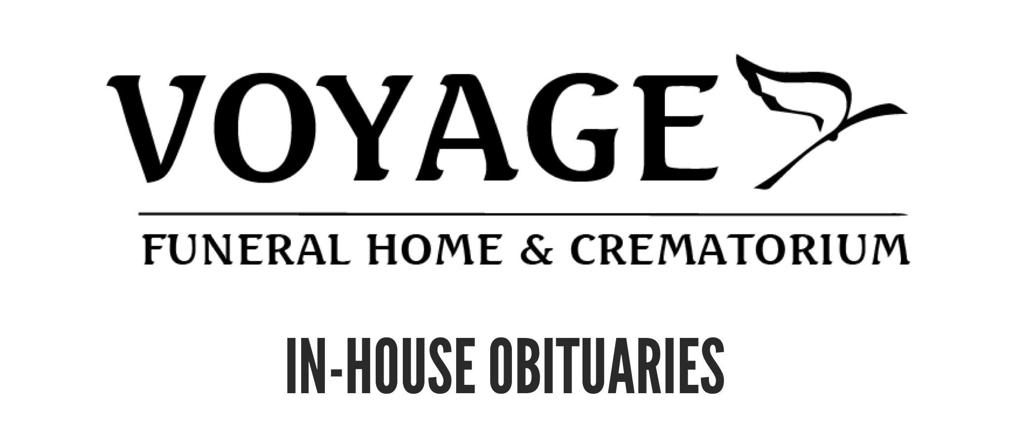 Voyage Obituaries Button