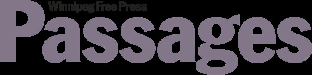 Winnipeg Free Press Passages Button
