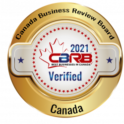 2021 CBRB Canadian Business Review Board Badge