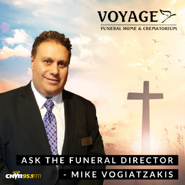 Ask the Funeral Director Podcasts Button