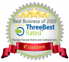 Picture of Voyage Funeral Home Excellence Award - Best rated for 2020