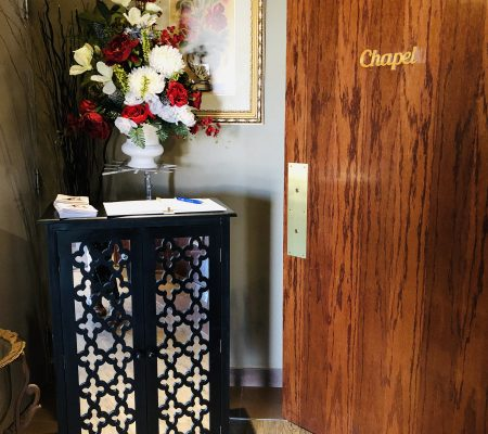 voyage funeral homes main office chapel entrance