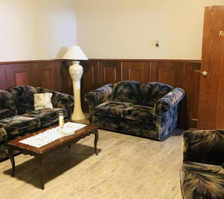 voyage funeral homes main office family room