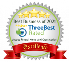 Voyage Funeral Home Excellence Award - Best rated for 2021