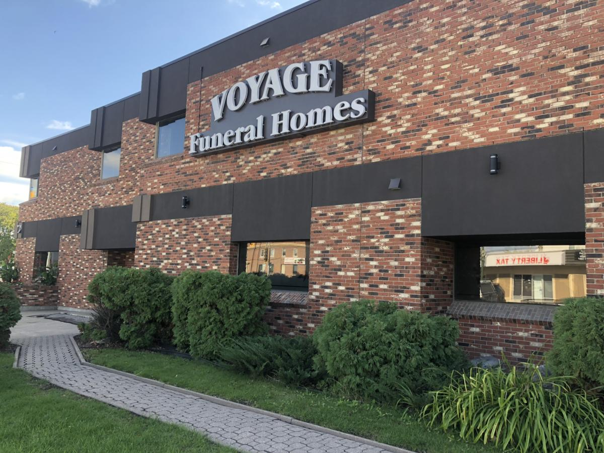 voyage funeral homes